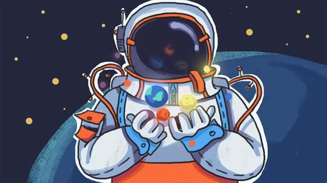 universe exploration space astronaut technology illustration llustration image illustration image