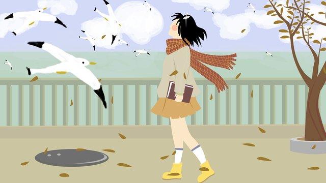 seagull kadang kadang imej keterlaluan imej ilustrasi