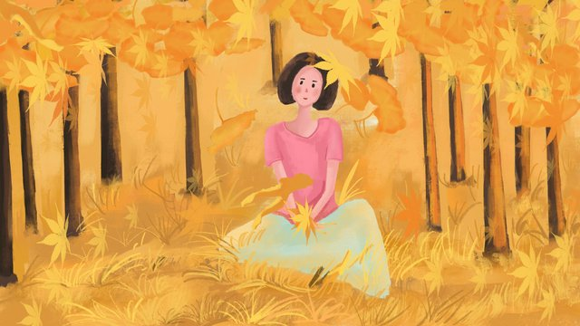 autumn whispers hello good morning maple leaf illustration llustration image illustration image