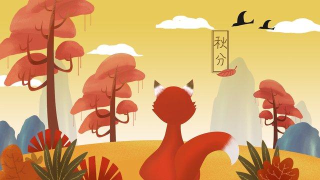 beautiful golden autumn festival equinox illustration llustration image illustration image