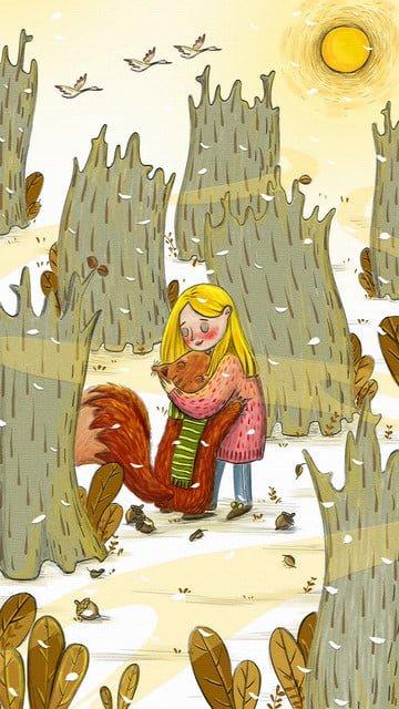 Warm winter cure system illustration illustration image