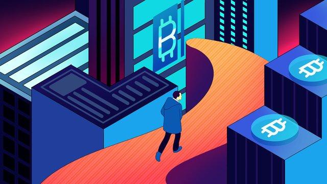 bitcoin 25d технологии чувство ручной росписью плаката обои Ресурсы иллюстрации