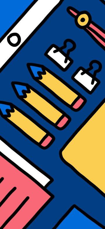 obiekty biurowe firmy kolor obrysu ilustracja moda obraz llustration