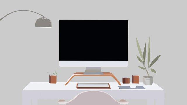 business office scene 4 llustration image illustration image