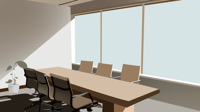 business office scene 3 llustration image illustration image