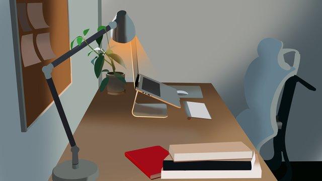 商務工作場景6 插畫素材 插畫圖片