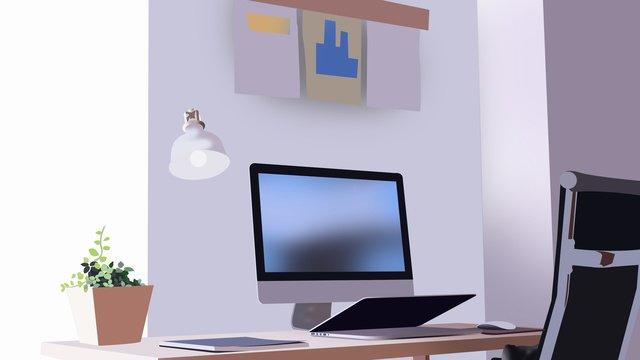cảnh văn phòng kinh doanh 6 Hình minh họa