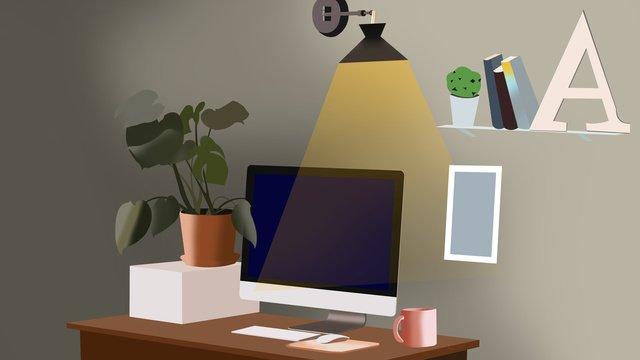 商務工作場景2 插畫素材 插畫圖片