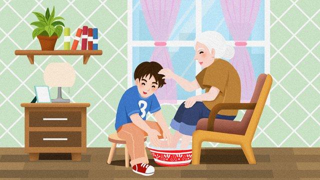 phim hoạt hình xã hội chăm sóc sinh kế cho người già Hình minh họa Hình minh họa