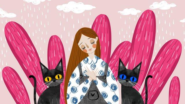 pet милая серия иллюстрации свежей системы лечения моей кошки Ресурсы иллюстрации Иллюстрация изображения
