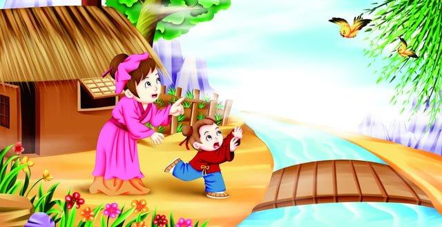 thơ cổ buổi tối lễ hội mùa xuân book hill house wall minh họa Hình minh họa Hình minh họa
