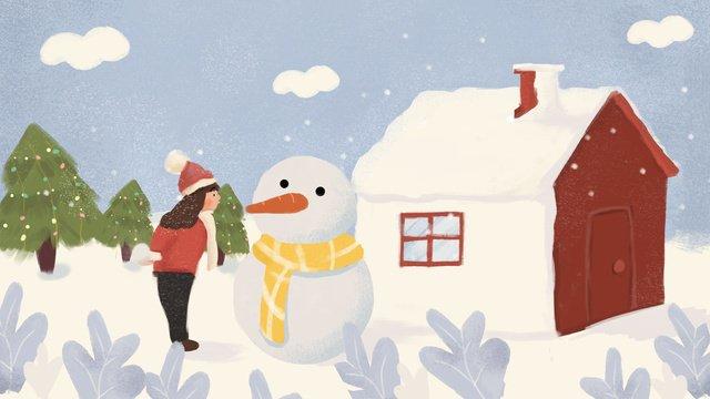 modèle de psd novembre hello winter illustration image d'llustration