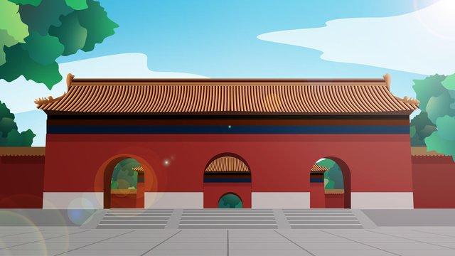 kiến trúc lịch sử kiểu trung quốc Hình minh họa