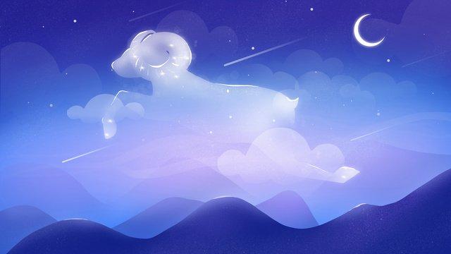 Original illustration twelve constellations aries, Constellation, Dream, Night Sky illustration image