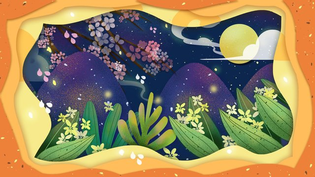 Fantasy fairyland original illustration, Cure, Dream, Wonderland illustration image