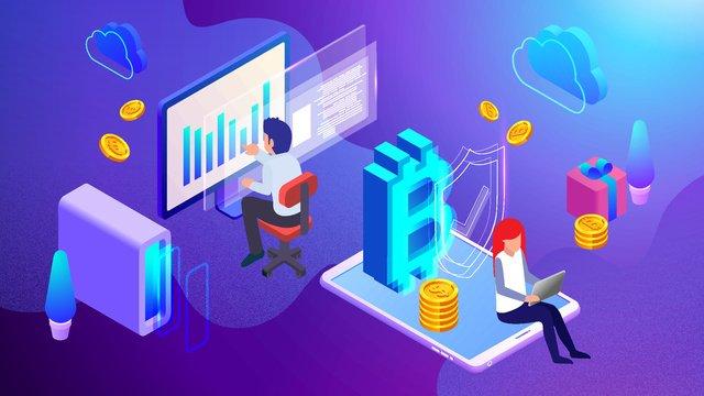 Minh họa bitcoin tài chính 25d gradient vectorTài  Chính  Bitcoin PNG Và Vector illustration image