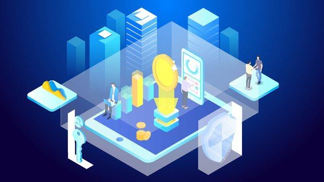 Финансовый офис bitcoin capital security breathable 25d Ресурсы иллюстрации Иллюстрация изображения