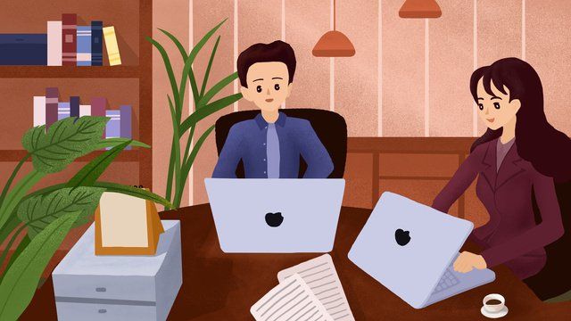 phong cách phẳng kết cấu kinh doanh nhân viên văn phòng minh họa Hình minh họa Hình minh họa