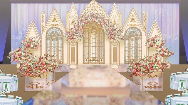 hoàng gia gió sân khấu khu vực vẽ tay minh họa Hình minh họa Hình minh họa