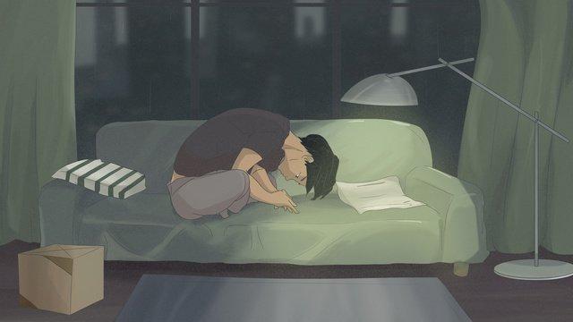 Good night goodbye city illustration, Good Night, Hello There, Goodbye illustration image