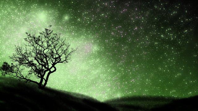 おやすみイラスト美しい星空 イラスト素材 イラスト画像