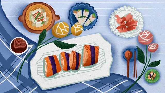 グルメファイト、さわやかな食事、イン、風、食べ物イラスト イラスト素材