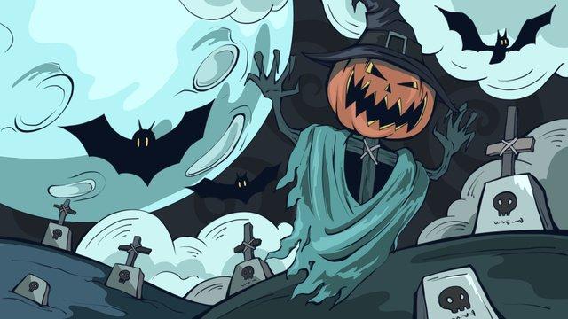 Halloween bí ngô người đàn ông minh họaHalloween  Người  đàn PNG Và PSD illustration image