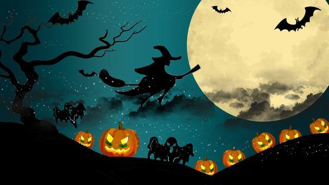 penyihir halloween imej keterlaluan