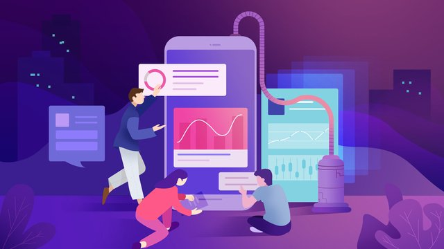 social media internet technology llustration image illustration image