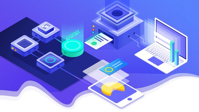 Синий освежающий офис интернет технологий Ресурсы иллюстрации