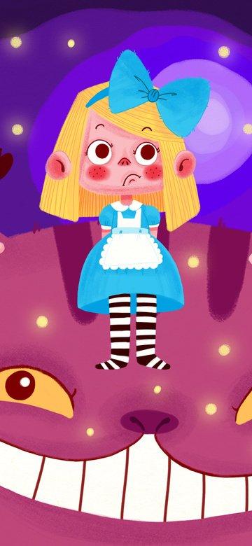 Алиса в стране чудес Ресурсы иллюстрации
