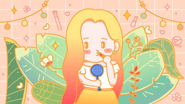 girly makeup lipstick world beauty day vector illustration llustration image