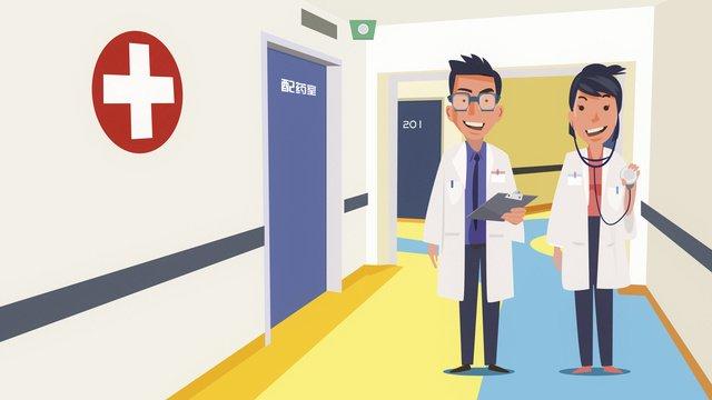 Medical childrens hospital doctors, Medical, Hospital, Childrens Hospital illustration image