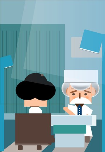医療救急現場医師患者病院 イラスト素材