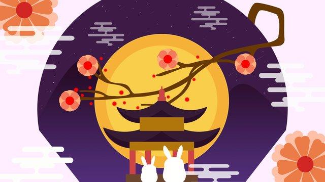 Mid autumn festival good moon illustration llustration image illustration image