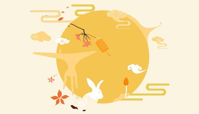 मध्य शरद ऋतु दृश्य स्क्रीन चित्रण चित्रण छवि