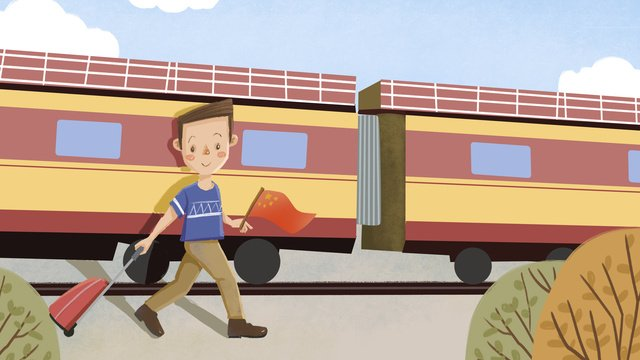 Train conductor and train - Download Free Vectors, Clipart Graphics & Vector  Art