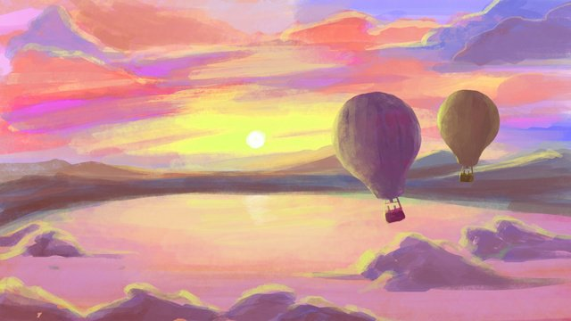 Neon Horizon Sunset Sunset glowTianhu  Belon  Udara PNG Dan JPA illustration image