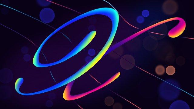 neon skyline swashes letter x hand drawn poster illustration wallpaper llustration image illustration image