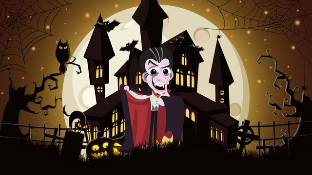 cute cartoon halloween carnival night illustration llustration image illustration image