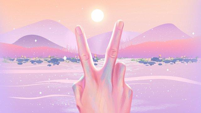 Hello the sun in november llustration image illustration image