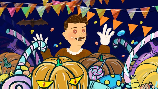 halloween carnival night candy day llustration image illustration image