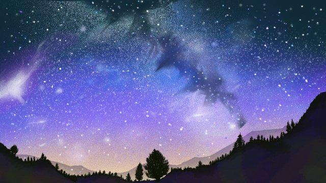 Đêm đầy sao Hình minh họa
