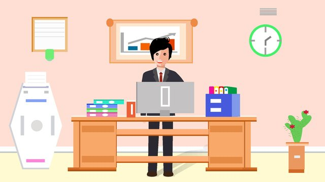 Original business office character scene vector illustration llustration image illustration image