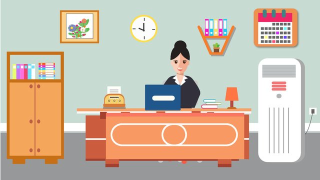 original business office scene vector illustration llustration image illustration image