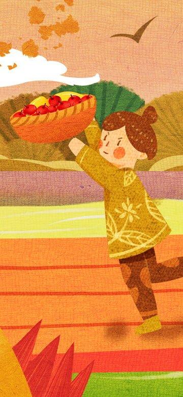 Original illustration november hello llustration image