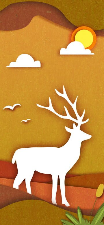 minh họa gốc giấy mùa thu và Hình minh họa Hình minh họa