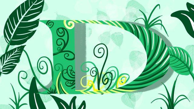 Original letter illustration d, Original, Letter, Illustration illustration image