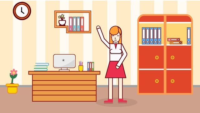 original office scene vector illustration llustration image illustration image