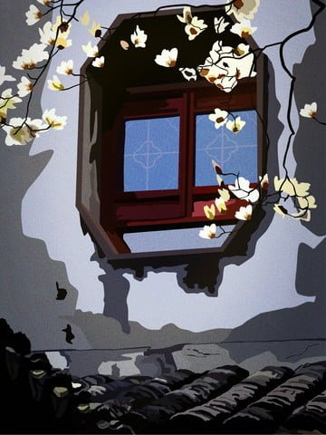 retro realistic illustration of antique patina tile kapok llustration image